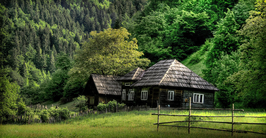Old Wood House By Iacobvasile On Deviantart