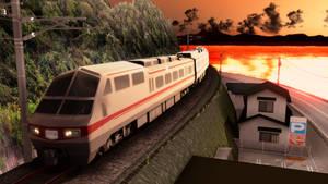 Luxurious tourist train