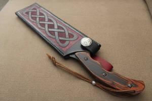 Knife and knot work sheath 2