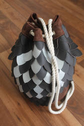 Dragon Scale Ditty Bag by theirishscott