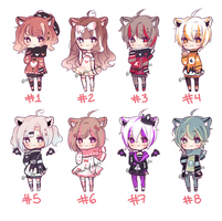 #34 | Set price cheap adopts | CLOSED by khatto-adopts