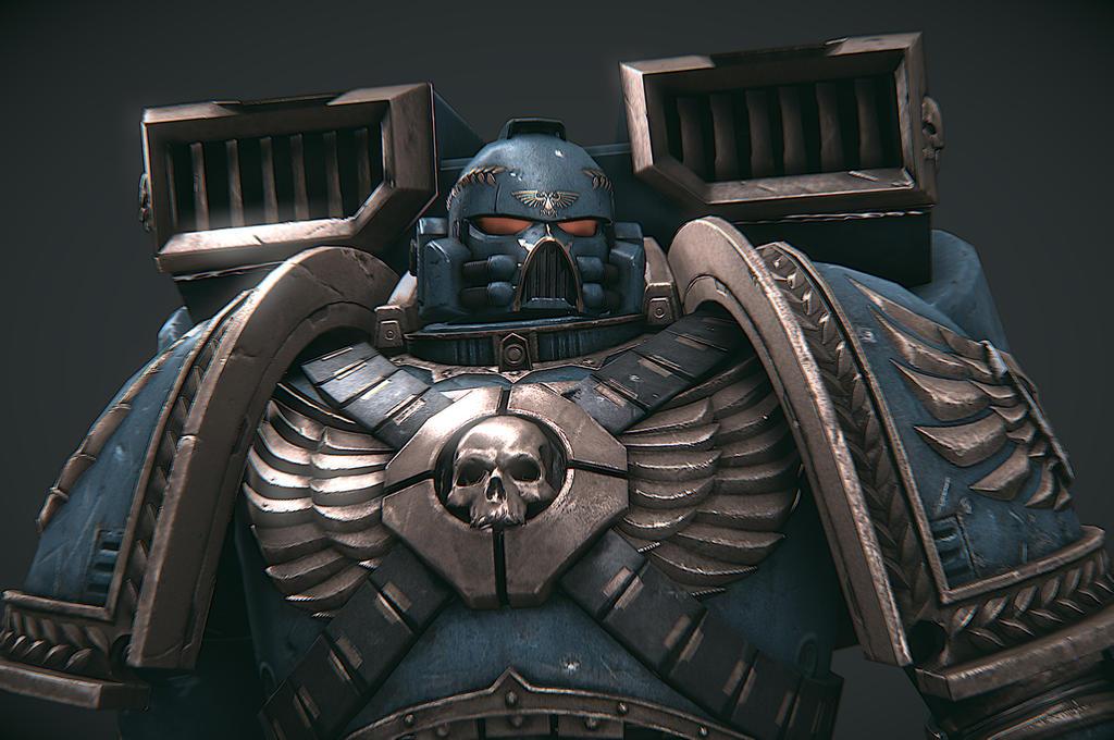 Warhammer Armor Model – HD Wallpapers