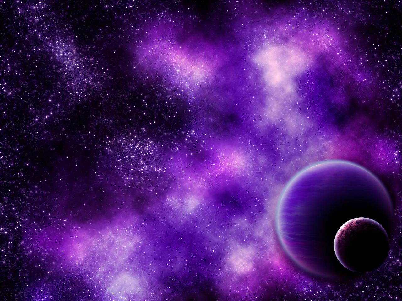 blue and purple nebula - photo #8