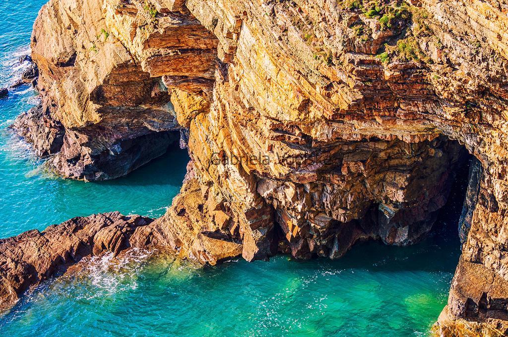 Sea caves by Sakycake