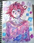 Scetchbook drawing: Diano