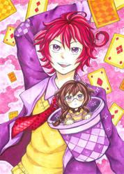 Diano Magica Manga COVER by SweetJiJiSama
