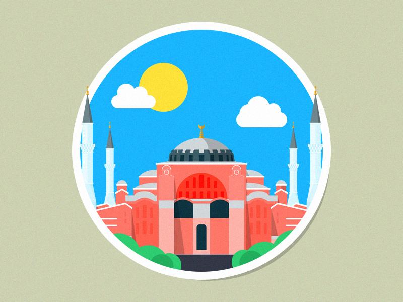 Turkey Hagia Sophia Mosque by NAKOOT