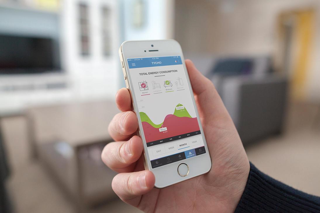 TYCHO Eco-friendly App by NAKOOT