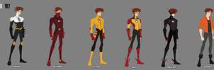 Johnny Marsh [Volt] Costume Design