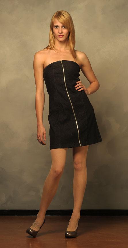 Full Length Zipper Dress by LinzyAnna on DeviantArt