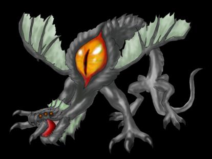RPG Maker Monster - Basilisk 2 by K-OZ-Will