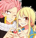 Render De Natsu y Lucy (nalu)