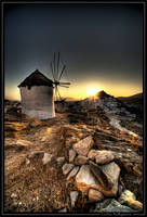 Windmill at Ios by beesy-studio
