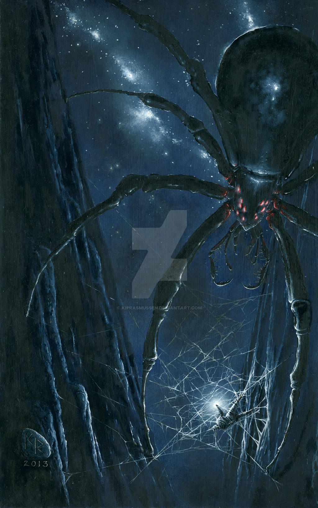 Morgoth Ensnared by Ungoliant by KipRasmussen on DeviantArt Ungoliant Vs Balrog