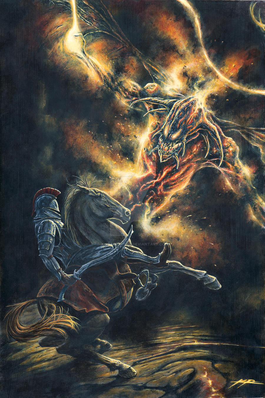 Gothmog vs Fingon, King of the Noldorin Elves by KipRasmussen on ... Gothmog Balrog