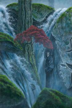Olorin in the Gardens of Lorien