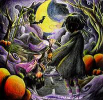walk to the dark by moconiz