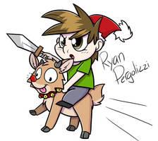 I'm saving Christmas by ArcticFox2012