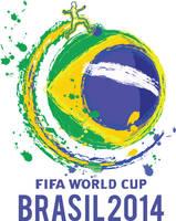 Brazil 2014  basic logo by acrangle