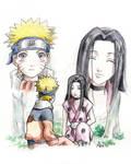 Naruto and Haku