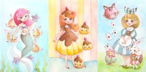 Fairytales Illustration Collage
