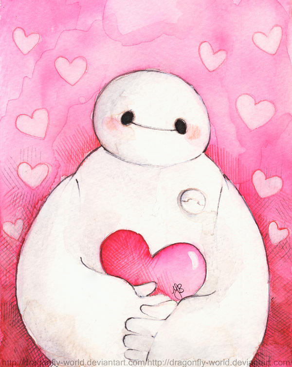 Baymax Love You by dragonfly-world