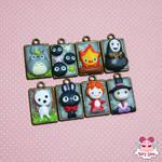 Totoro and Friends Mini Cammeo