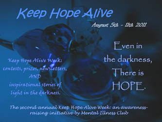 Keep Hope Alive Poster by poetrice