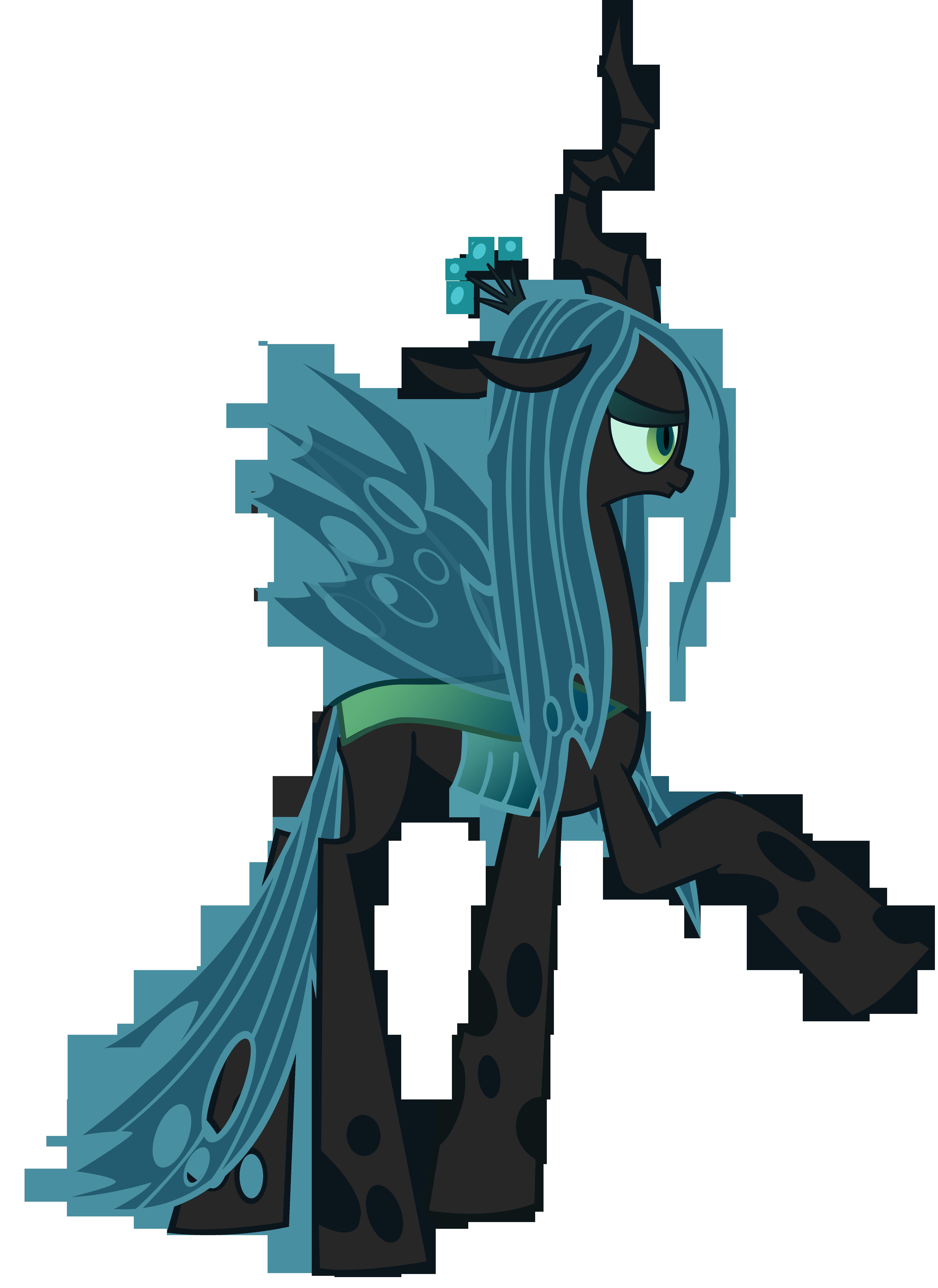 Queen Chrysalis Vector by Donnyku on DeviantArt