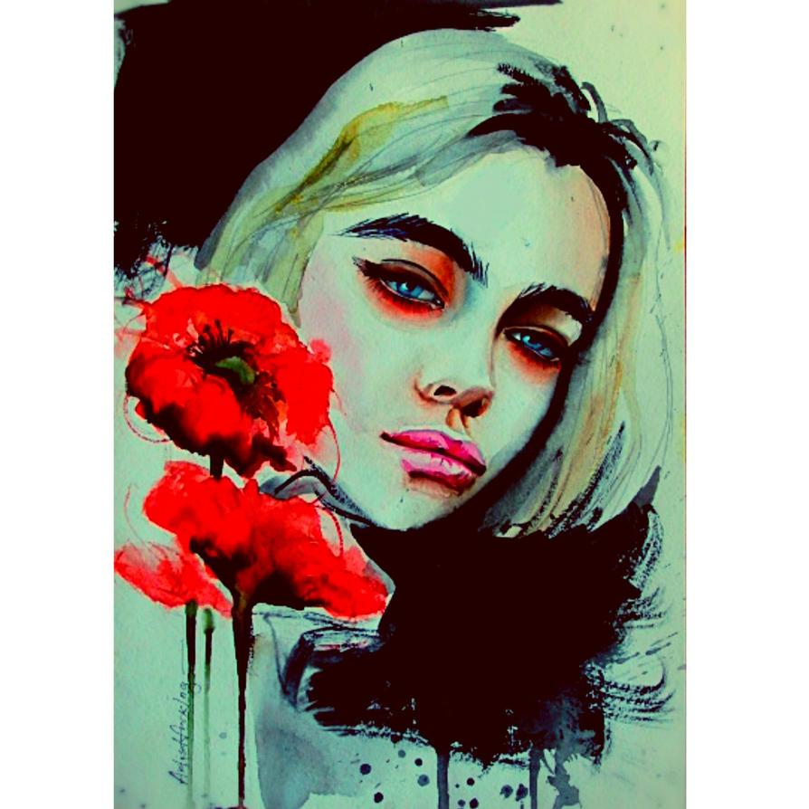 poppy by Artistfucking