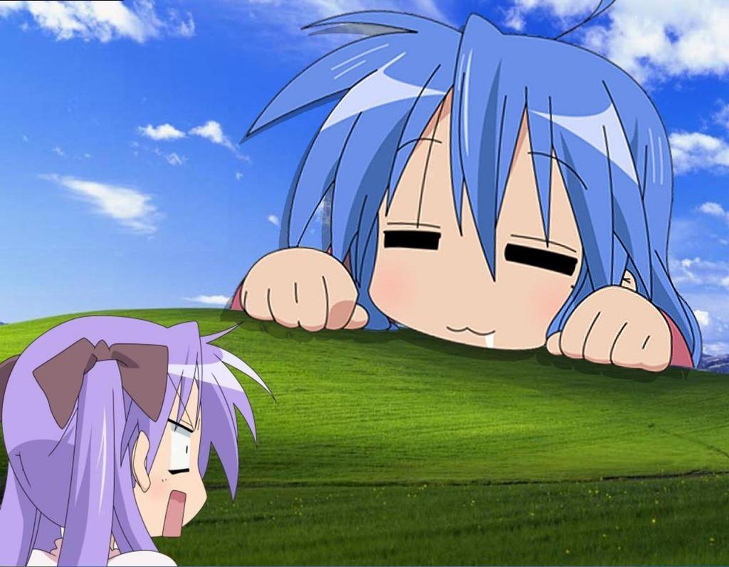 Laatste post wint! - Pagina 10 Konata_and_Kagami_Windows_Xp_by_azure2526