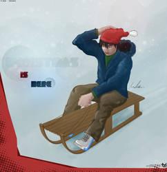Christmas bobsleigh