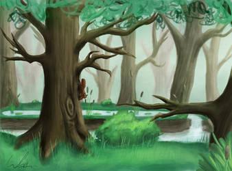 Forest by tadejmiklavc