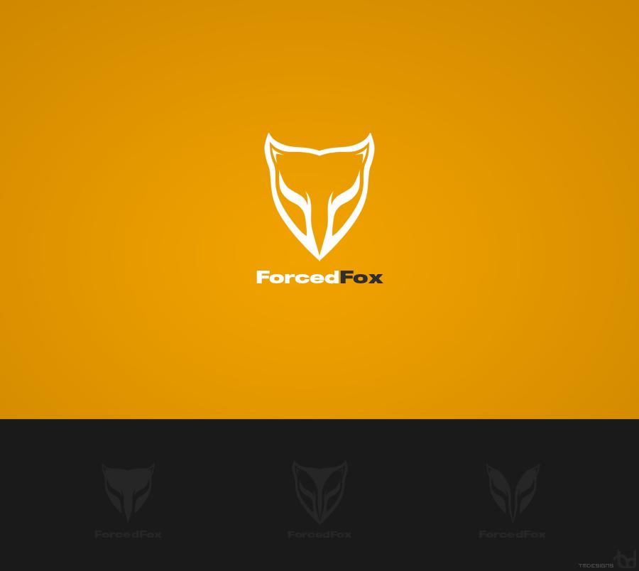 ForcedFox Logotype by tadejmiklavc