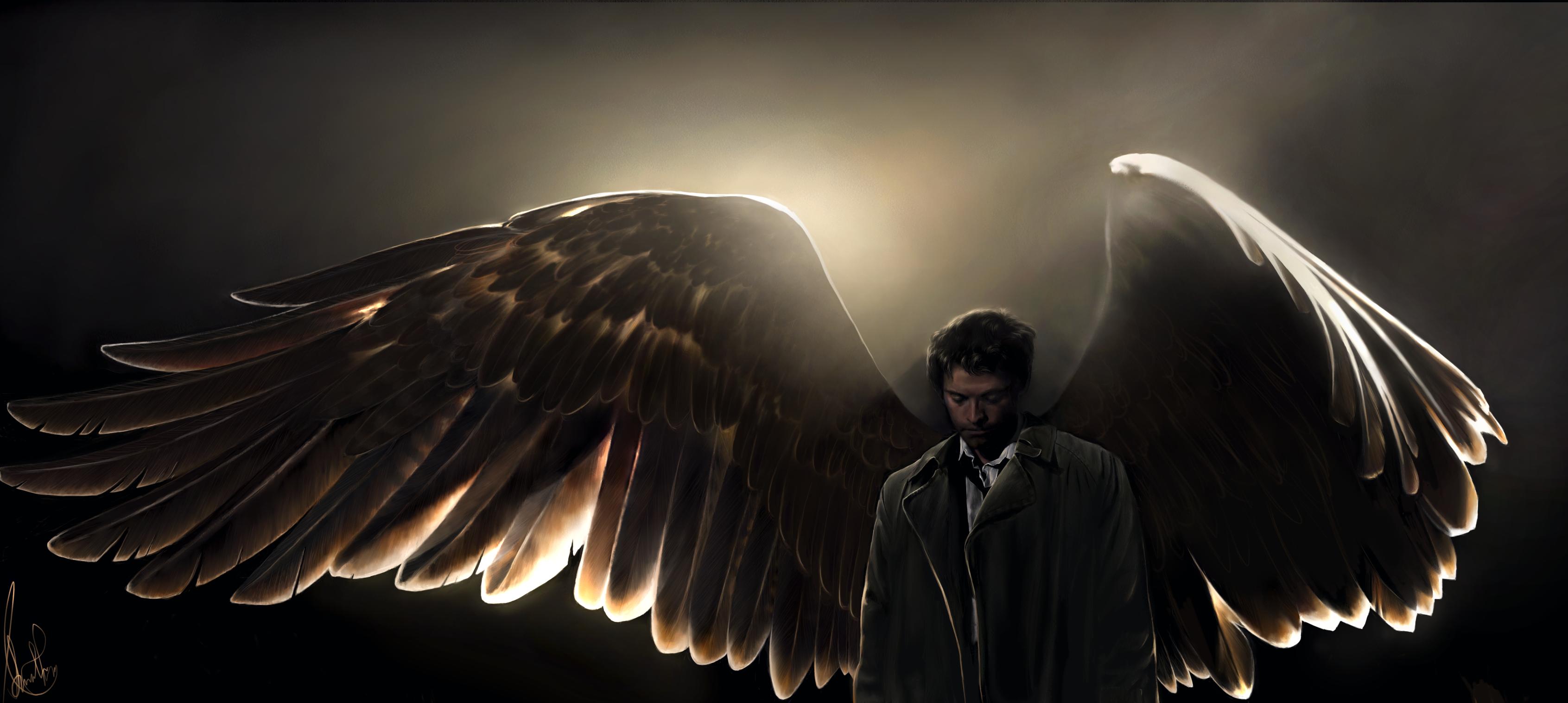 Castiel by AmandaTolleson