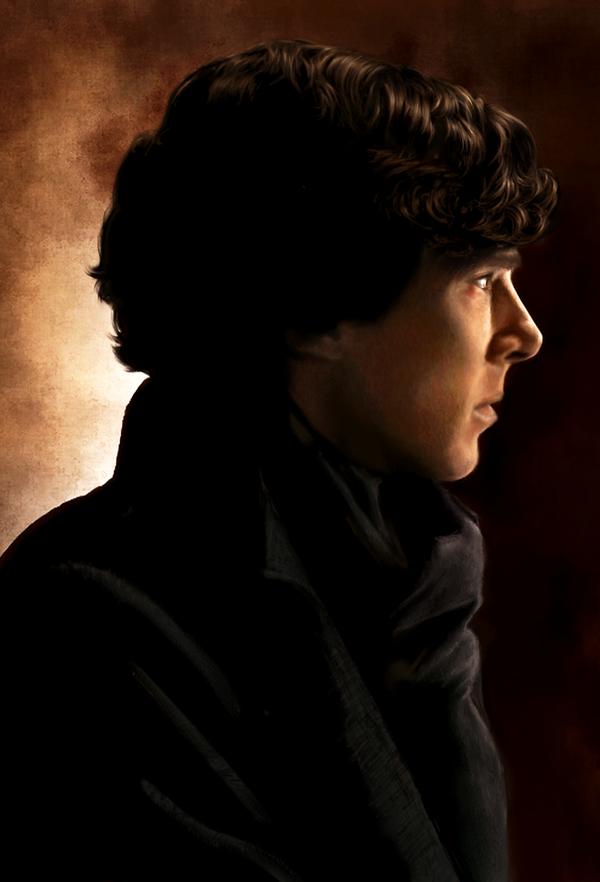 Sherlock by AmandaTolleson