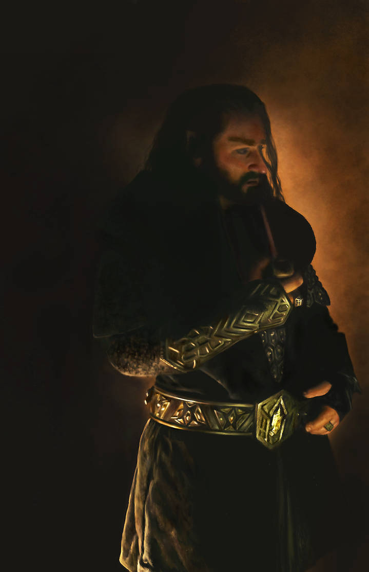 Thorin Oakenshield by AmandaTolleson