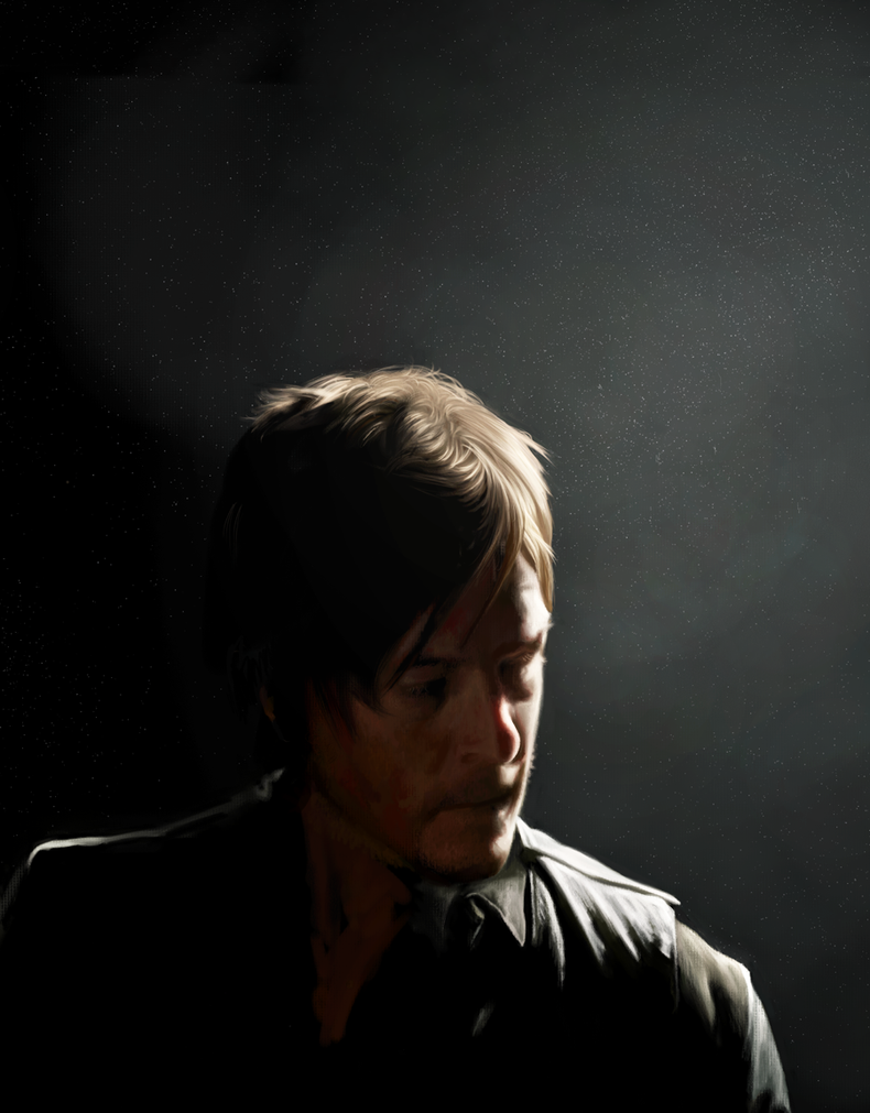 Daryl Dixon by AmandaTolleson