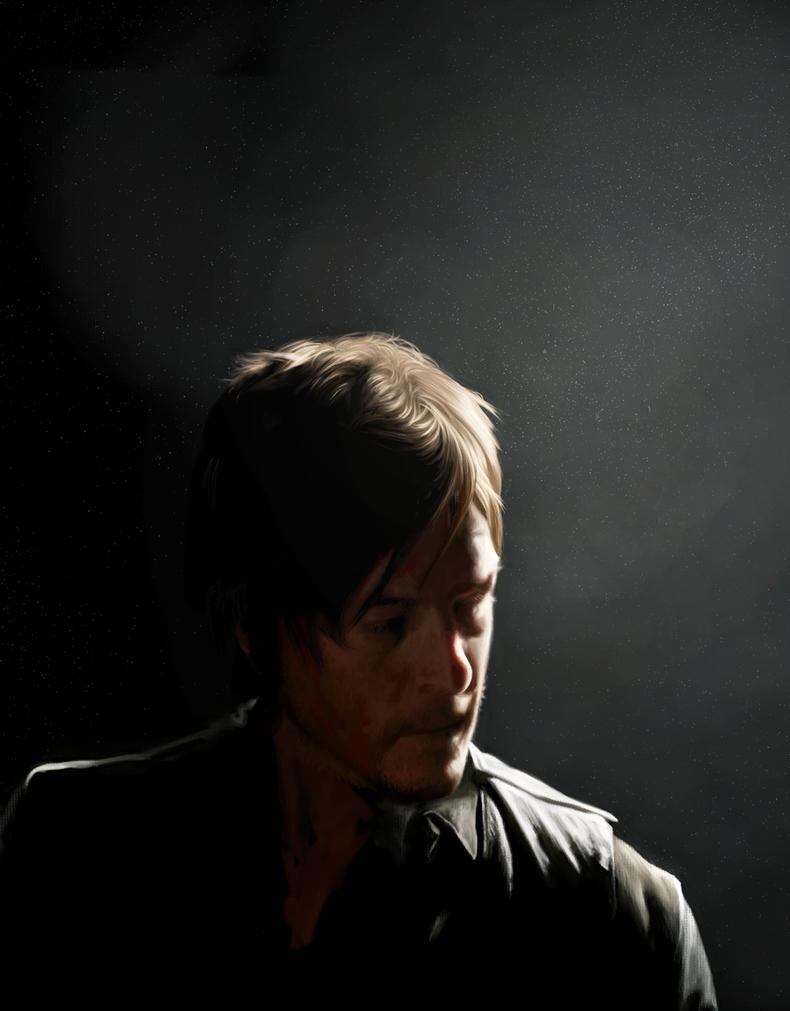 Daryl Dixon by AmandaTolleson