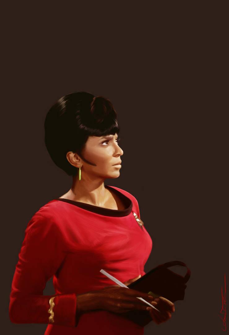 Uhura by AmandaTolleson