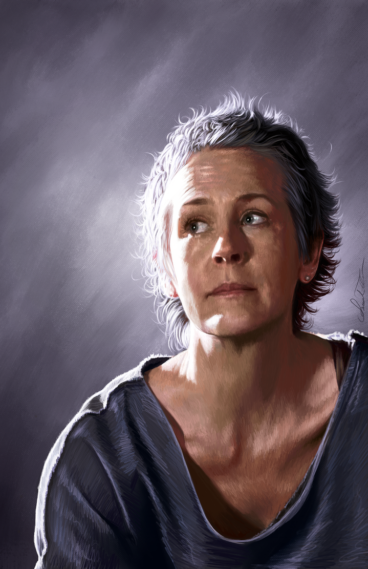 Carol Peletier by AmandaTolleson