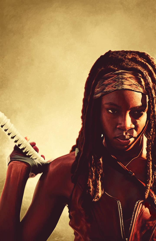 Michonne by AmandaTolleson