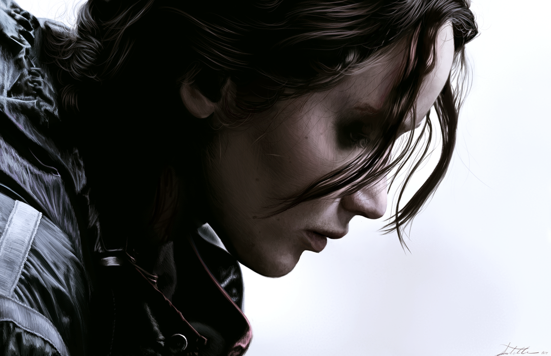 Katniss Everdeen by AmandaTolleson