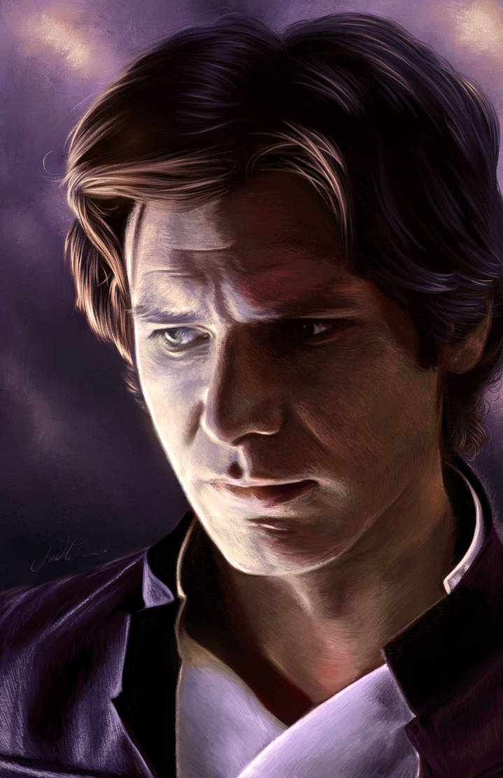 Han Solo by AmandaTolleson
