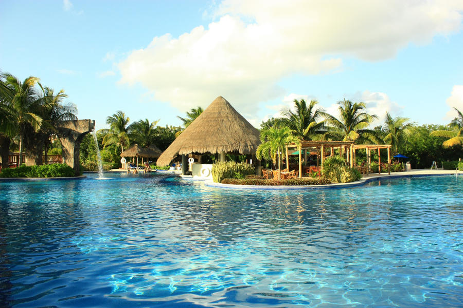 Valentin Imperial Maya Hotel In Mexico By Stntoulouse On