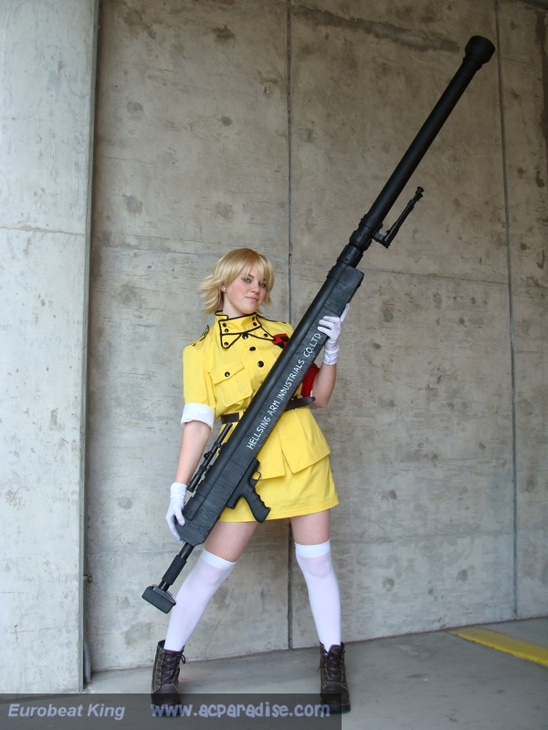 Seras Cosplay by lampylampy