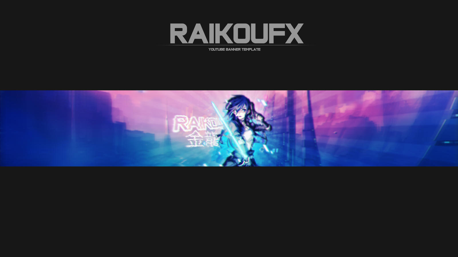 Anime Youtube Banners by RaikouFX on DeviantArt