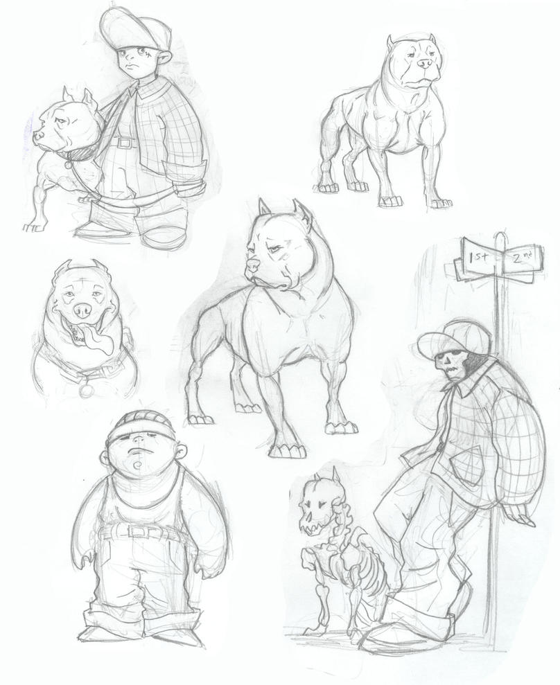 Gangster Sketches: Gangster Concepts By McTats On DeviantArt