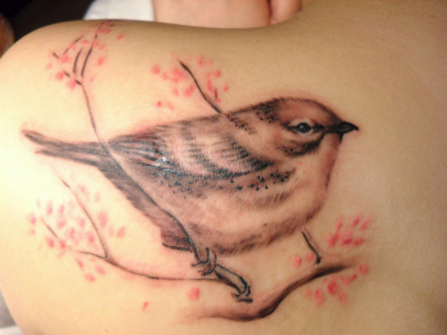 Cuban Songbird Tattoo by McTats