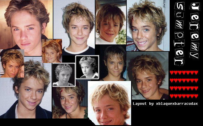 Jeremy Sumpter Peter Pan Deviantart: Jeremy Sumpter Collage By The-Evil-Kittah On DeviantArt